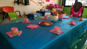Just 4 Kids Salon Birthday Parties - Alice in Wonderland Tea Party 4