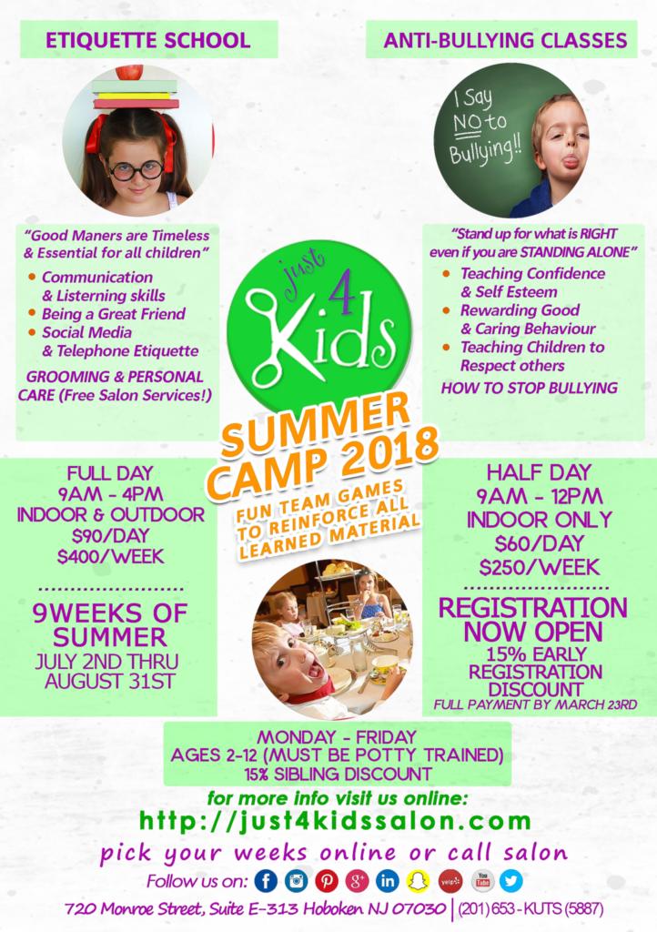 J4K Summer Camps 2018
