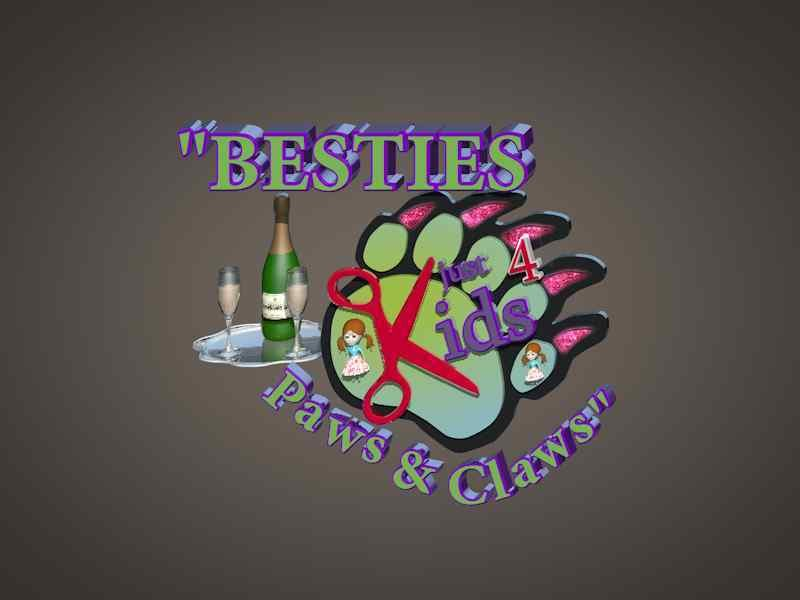 Just 4 Kids Salon - Besties Paws and Claws Party