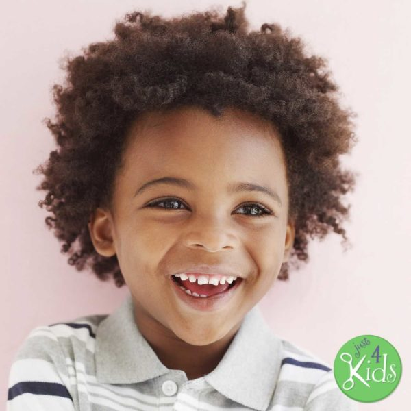 The Importance of Fully Knowing the Hair Type of your Child - Boy with Coarse Hair