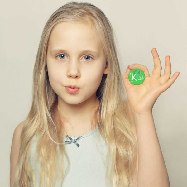 The Importance of Fully Knowing the Hair Type of your Child - Girl with Medium Hair
